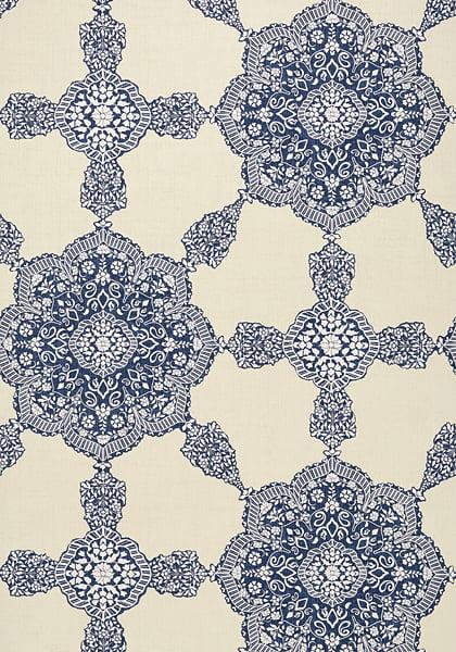 Vintage paisley wallpaper
