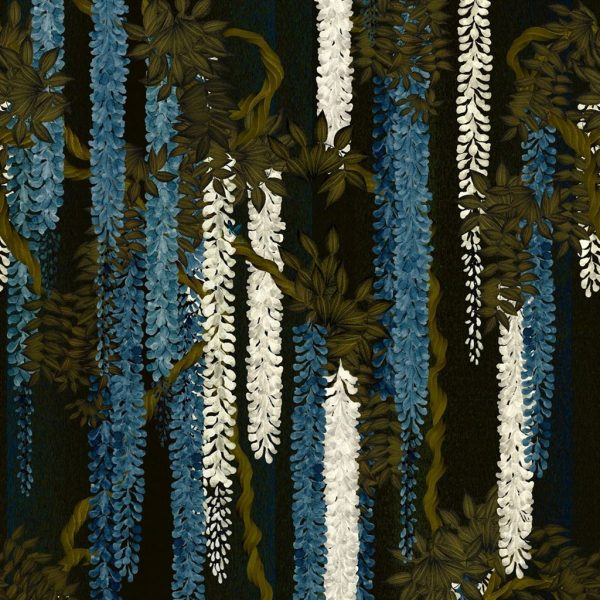 Hanging Wisteria wallpaper