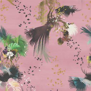 Modern feather mural wallpaper