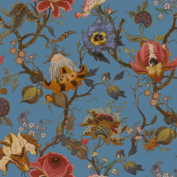 Exotic flower bright wallpaper