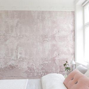 Concrete effect wallpaper