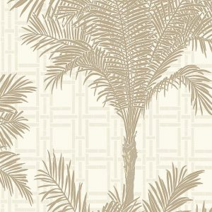 Palm tree & bamboo wallpaper