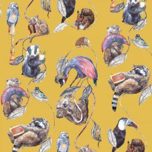 Modern animal wallpaper
