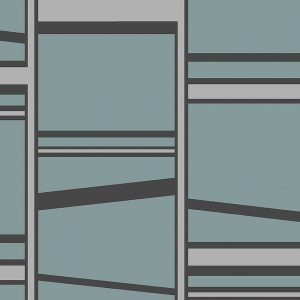 Bold wallpaper stripes