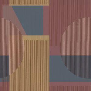 Retro shapes wallpaper