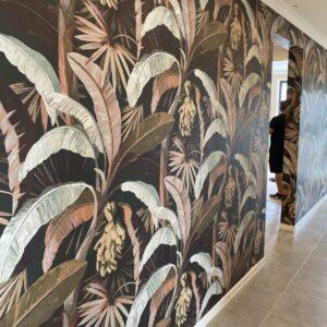 la palma banana palm wallpaper